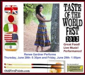Renee Gardner 2012 Taste of the World Fest