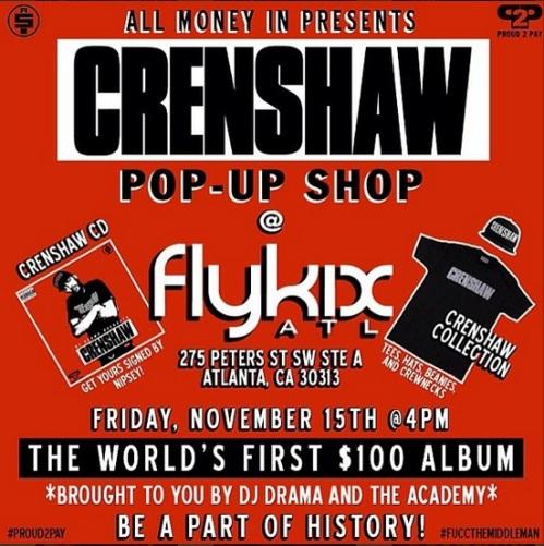 Crenshaw Pop Up Shop