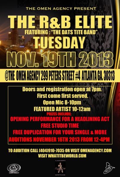 R&B Elite November 19th