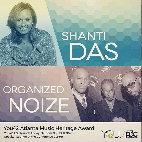 You42 Award Shanti Das Organized Noize